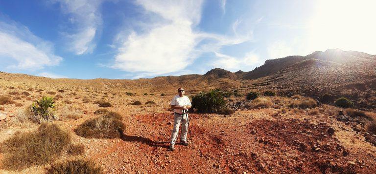 El sendero de la Caldera de la Majada Redonda.